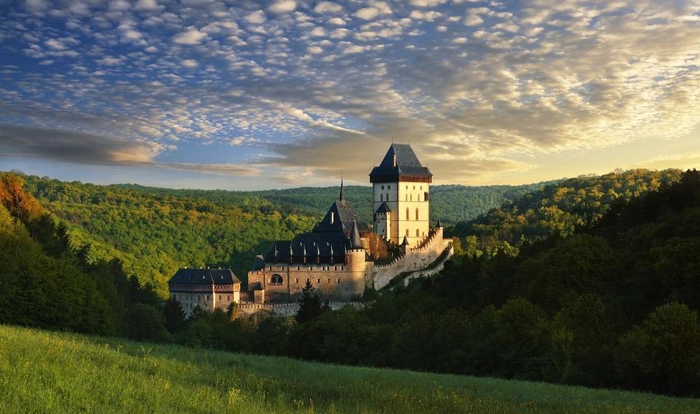 Лучшие замки чехии