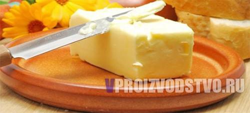 Производство сливочного масла технология