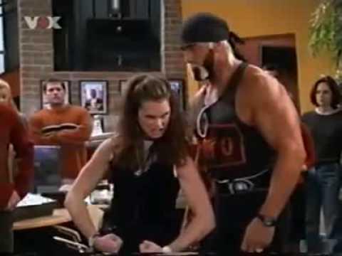 Brooke shields flexing biceps