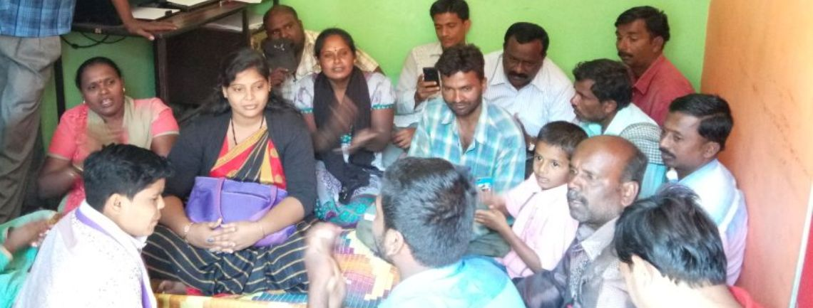 Community Meeting on TG Bill, Chikkaballapur, Dec 2017