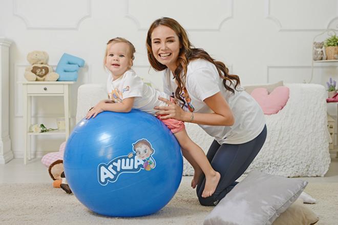 Ляйсан Утяшева с дочерью