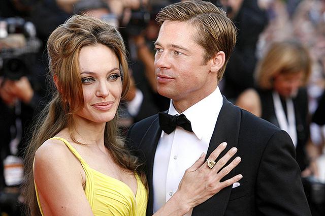 Джоли брэд питт развод