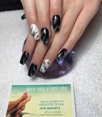 Aqua nails angleton tx