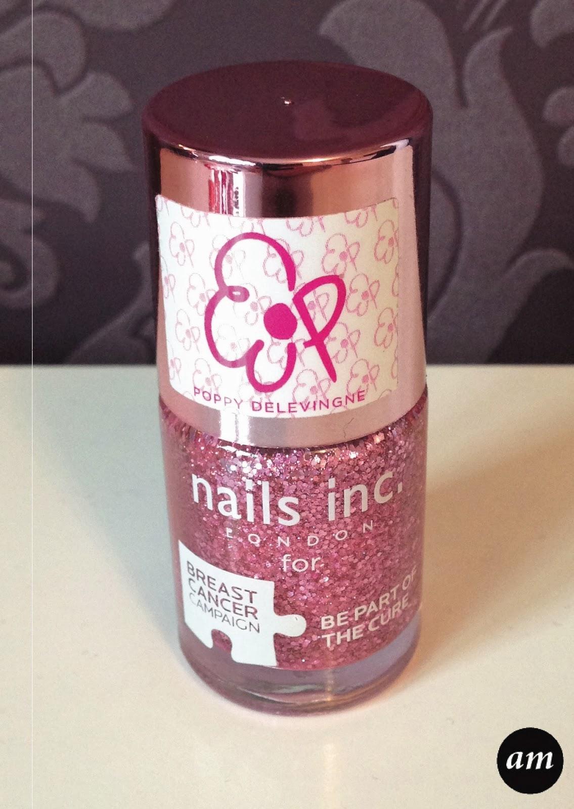 Nails inc breast cancer polish