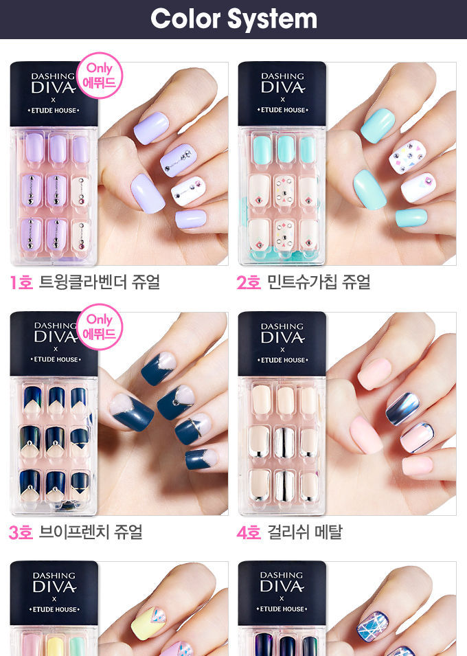 Diva press on nails