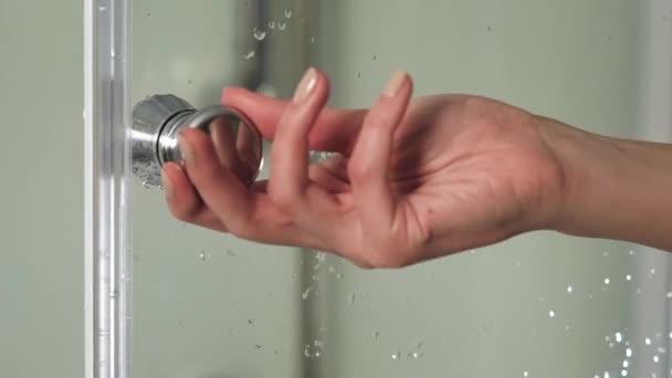 Видео в женской душевой