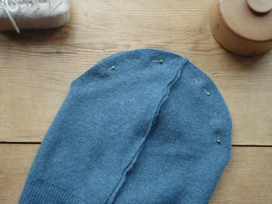 Бини изтрикотажа: как сшить шапку своими руками