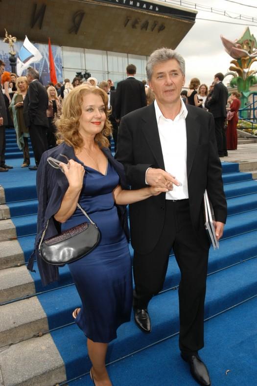 Сергей Мартынов и Ирина Алферова