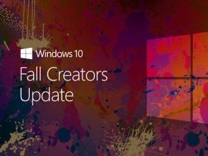 Fall Creators Update для Windows 10