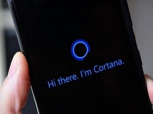 Оповещение от Cortana
