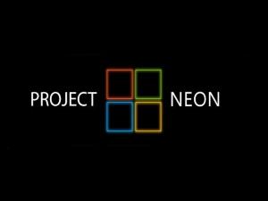 Логотип проекта NEON