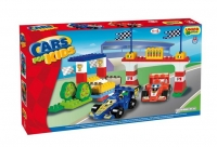 "Детский конструктор Unico Plus ""Autodromo F1 Cars"""