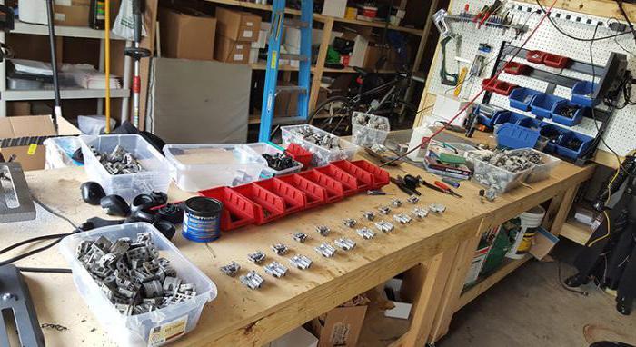 Бизнес идея в гараже производство
