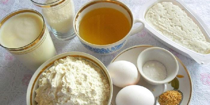 Тесто дрожжевое для пирожков на кефире рецепт в духовке