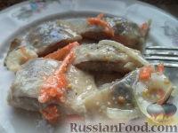 Фото к рецепту: Маринованная сельдь