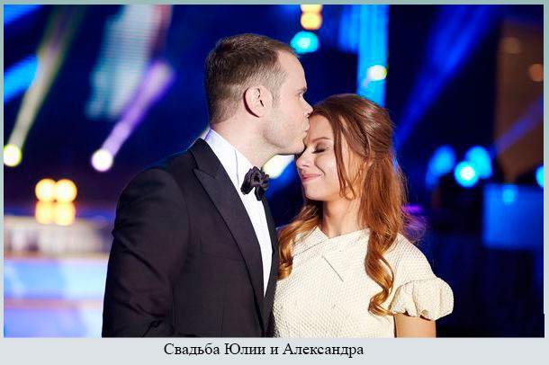 Свадьба Юлии и Александра