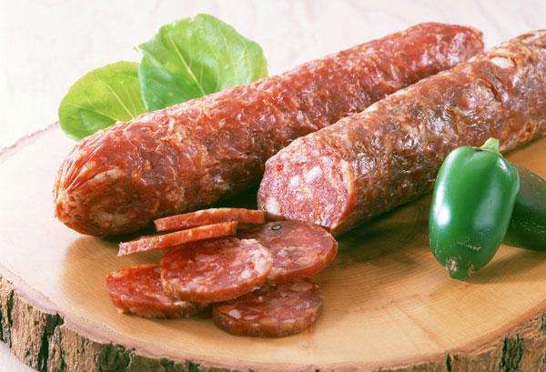 Колбаса диетическая в домашних условиях