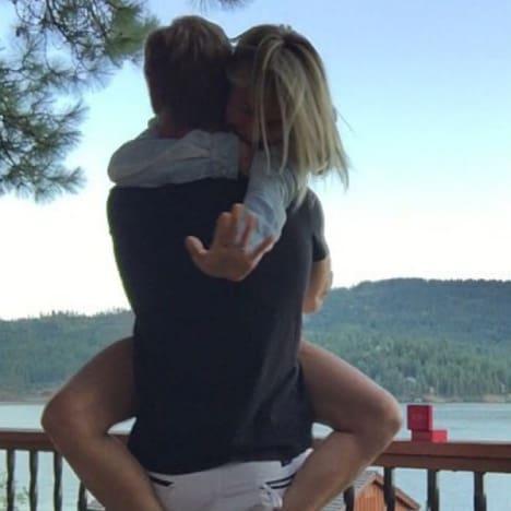 Zach wilson engaged to julianne hough