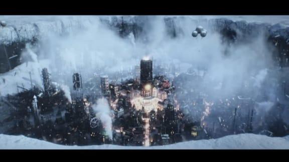Ond, bråd död i ny Frostpunk-trailer