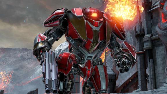 Spela som robot i Quake Champions
