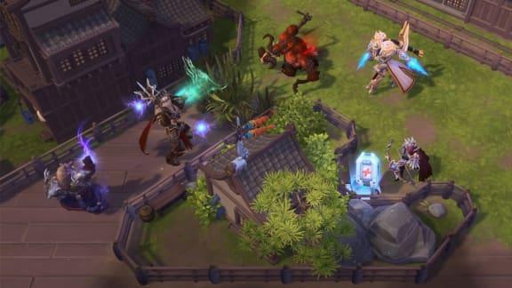 Genji och ny karta till Heroes of the Storm