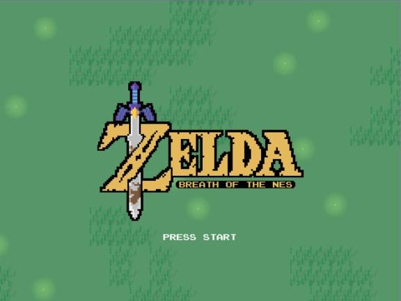 Om nya Zelda vore ett NES-spel