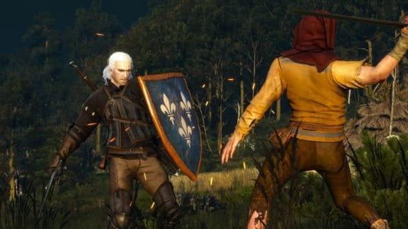 Nu kan du använda sköldar i The Witcher III