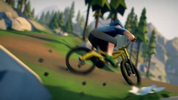 Cykla som en stolle i Lonely Mountains: Downhill