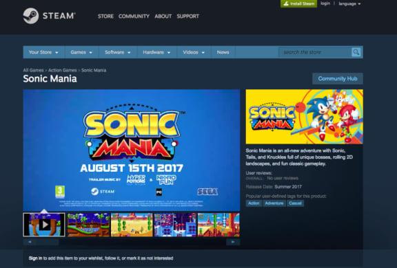 Släpps Sonic Mania den 15 augusti?