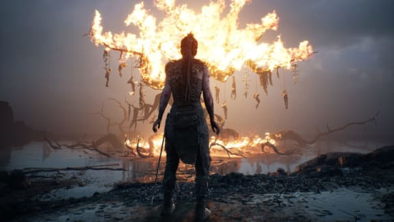 10 minuter från Hellblade: Senua's Sacrifice