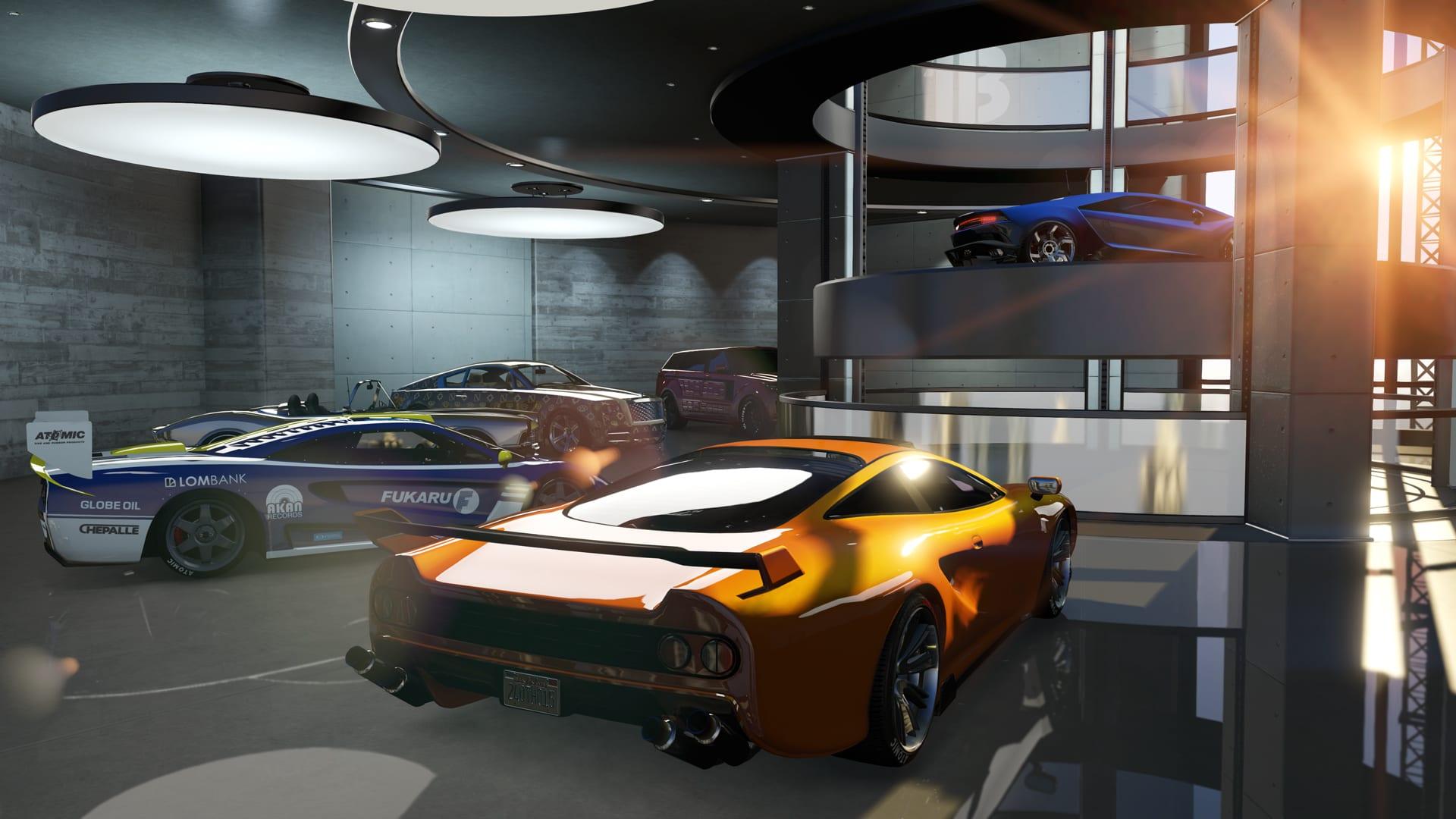 Nästa uppdatering låter dig spara 60 fordon i GTA Online-garaget