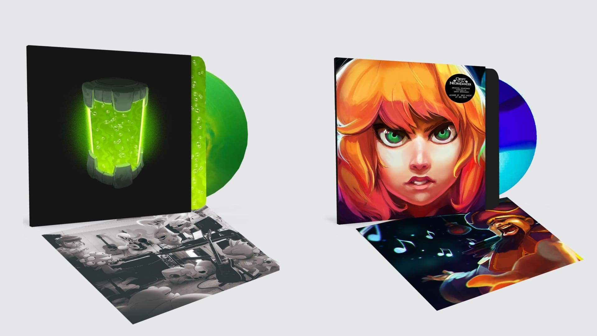 Nuclear Thrones musik ges ut på vinyl