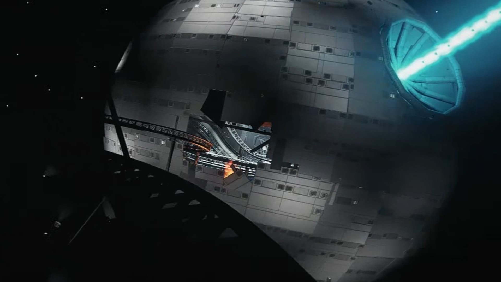 Se Dödsstjärnan som berg-och-dal-bana i Planet Coaster!