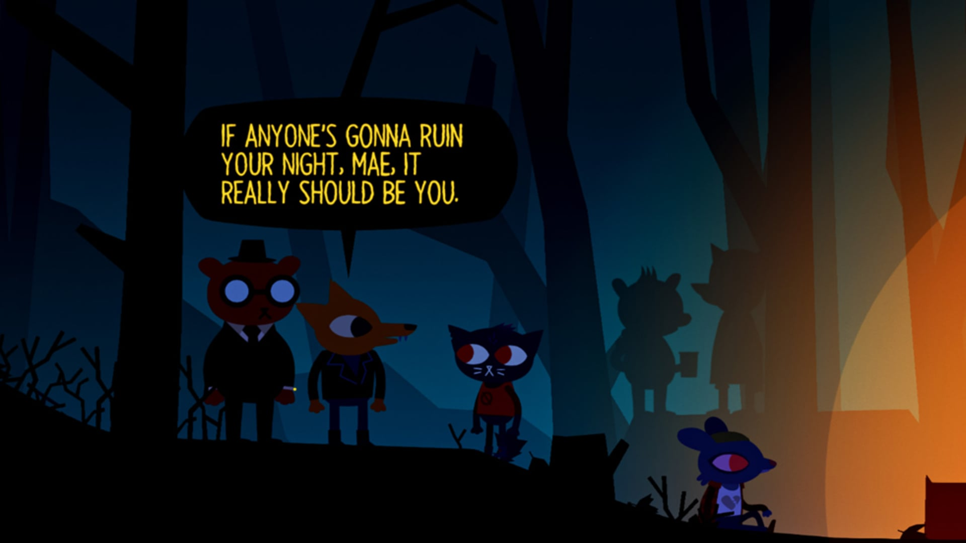 Slutförsenat – Night in the Woods ute nu
