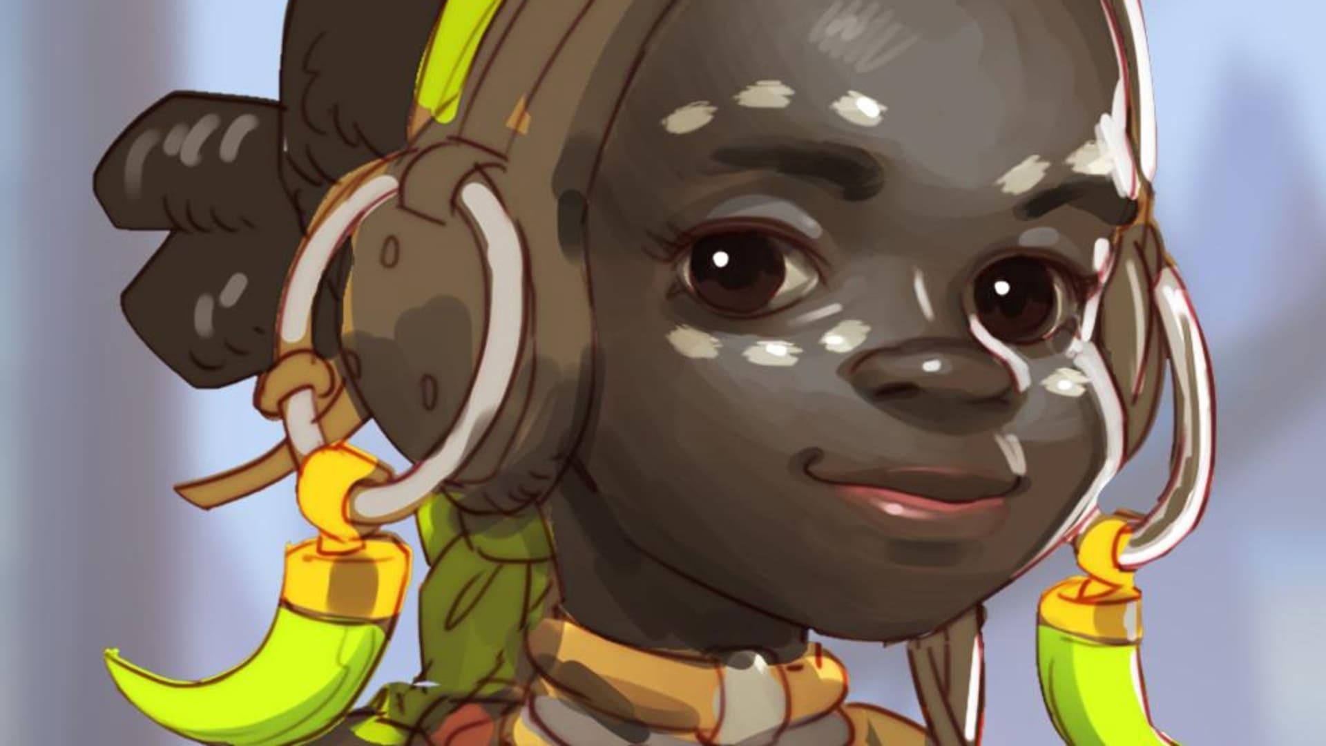 Nästa Overwatch-hjälte – en robottokig flicka?