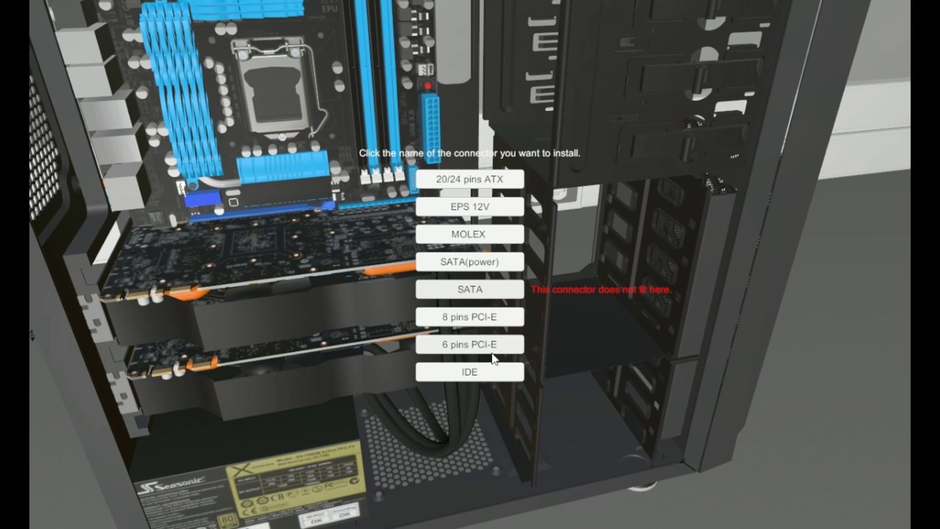 Bygg din egen virtuella dator i PC Building Simulator
