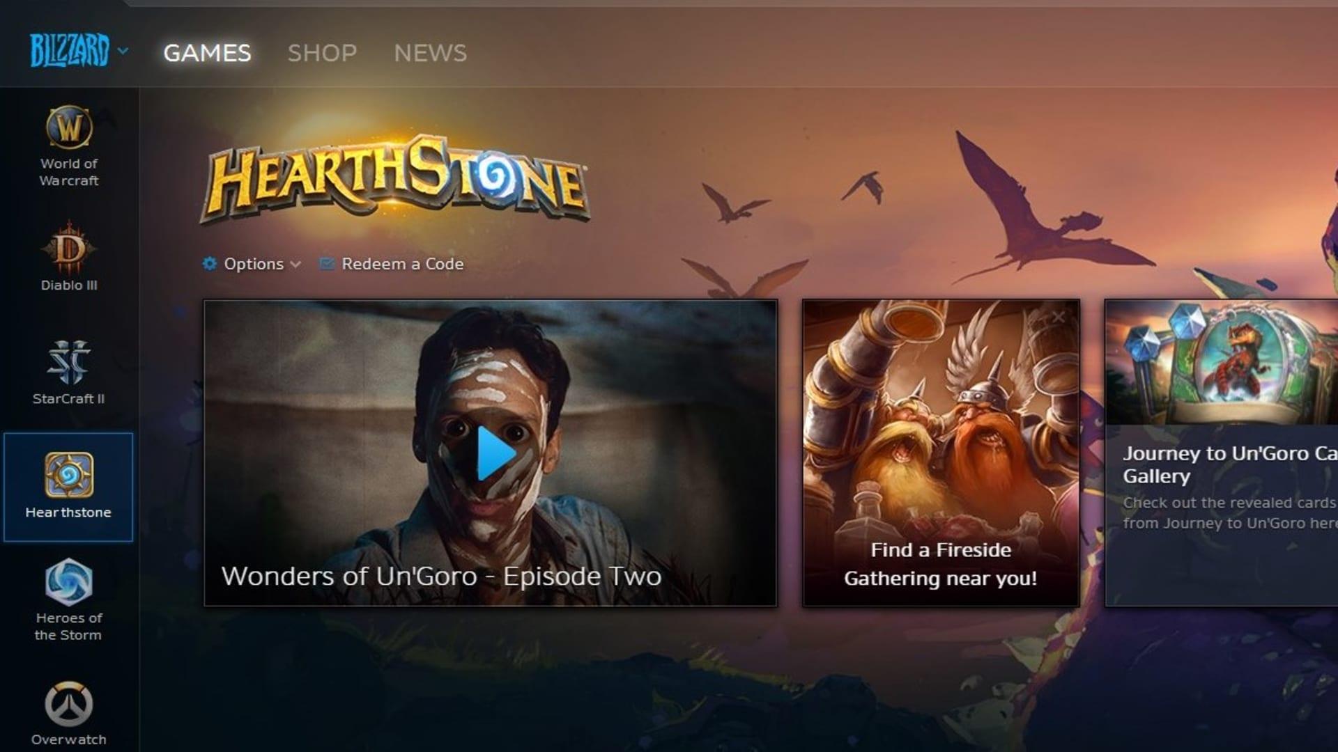 Battle.net heter numera Blizzard App