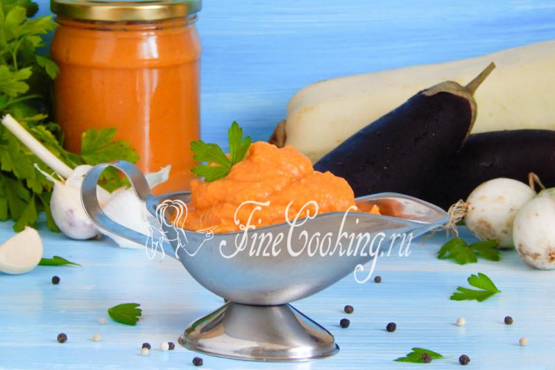 Рецепт икры из кабачков и из баклажанов