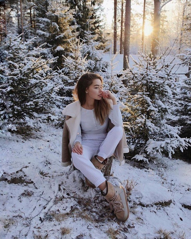 Виктория зима инстаграм
