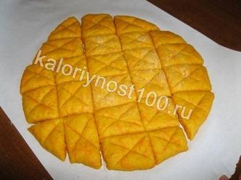 Диетическое печенье из моркови