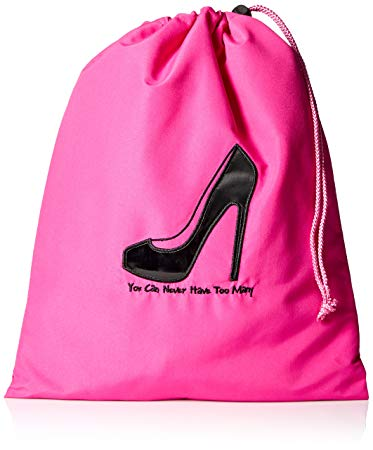 Pink shoe bags
