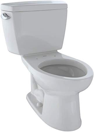 Drake eco 2-piece 1.28 gpf elongated toilet