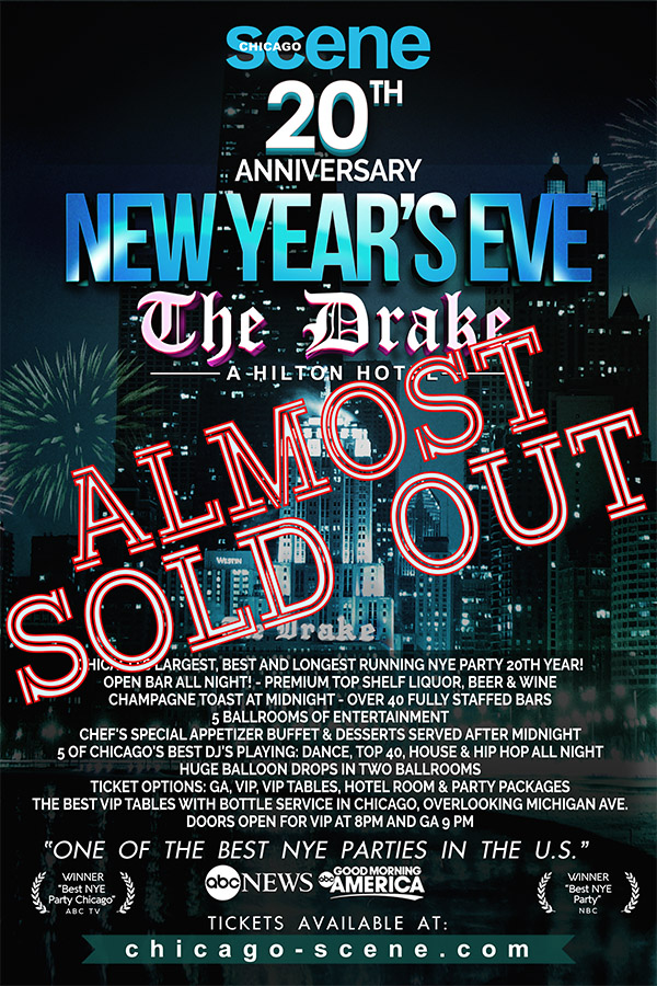 Drake hotel new years party