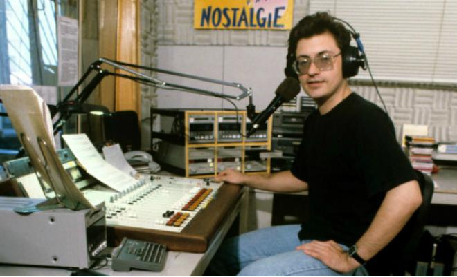 Журналист Андрей Норкин в молодости