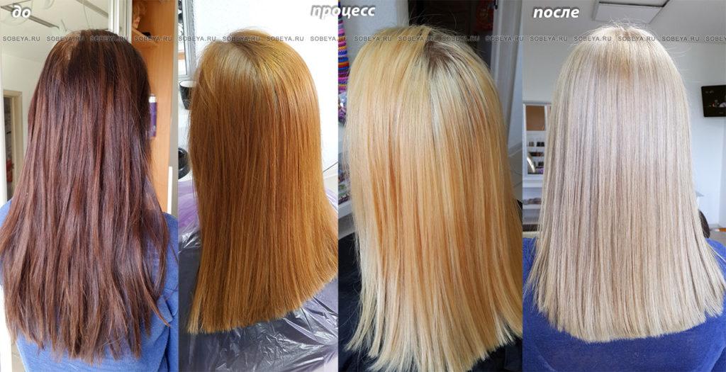 Как смыть содой краску с волос