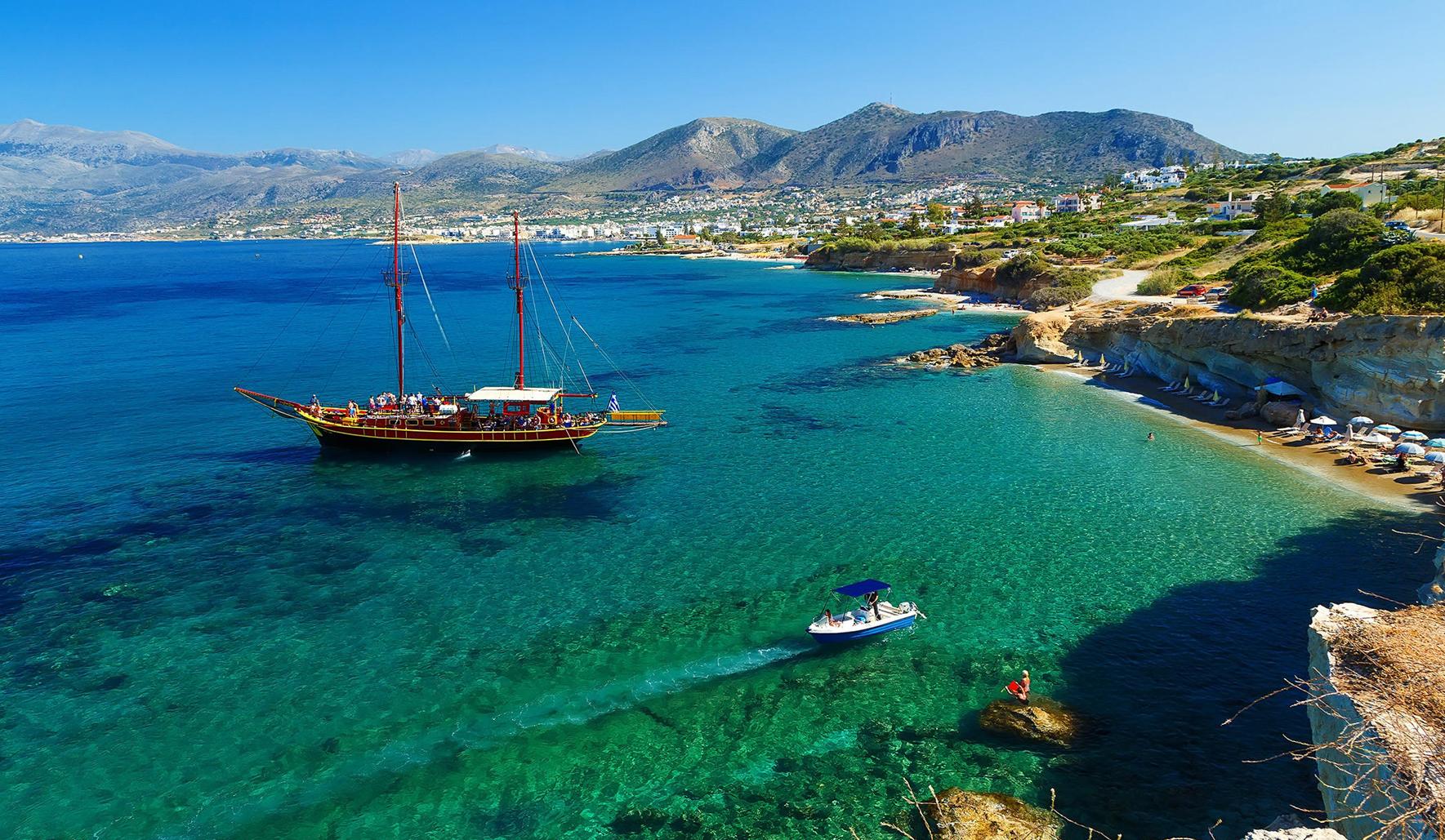 Крит где лучше море и пляж