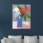 Spring Florals 10 Canvas Giclee - 2