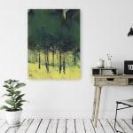 Pine Copse Canvas Giclee - 2