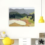 Snow Patch Canvas Giclee - 2