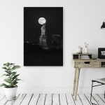 Full Moon New York Canvas Giclee - 2